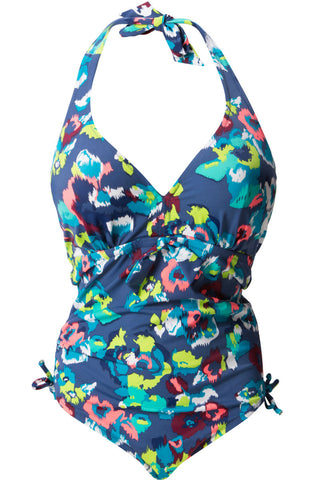 Coral Reef halter swimsuit