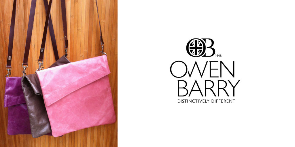 Owen Barry leather bags