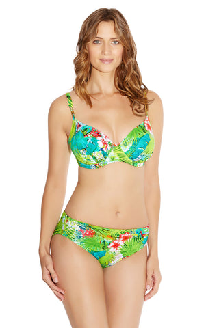 Fantasie green antigua bikini