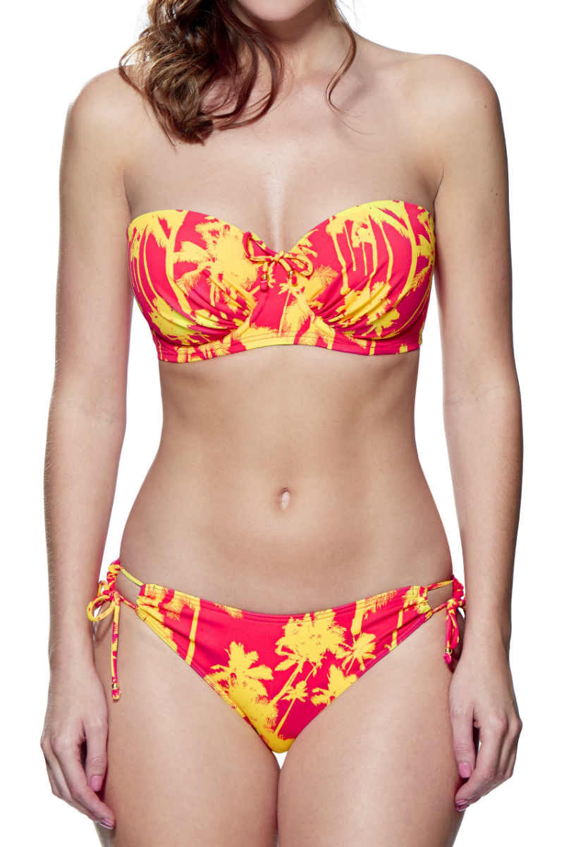 Lepel miami girls bikini orange yellow fuller bust