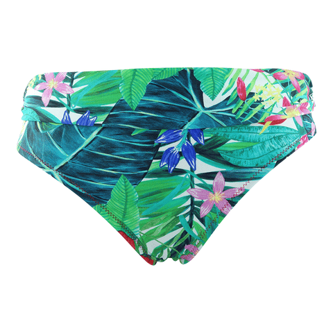 Tropical bikini brief