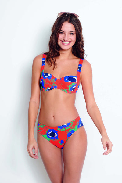 Huit bikini Good Mood orange underwired f cup