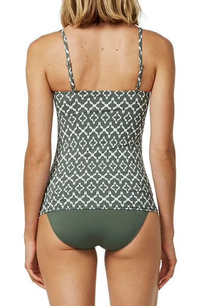 Moontide Sonar tankini at Airy Mary rear view