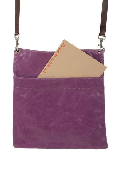 Owen Barry leather Z bag Orchid Purple at AIRY MARY