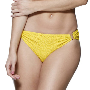 Yellow bikini brief Lepel crochet