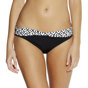 Fantasie Tanzania low rise bikini brief black cream