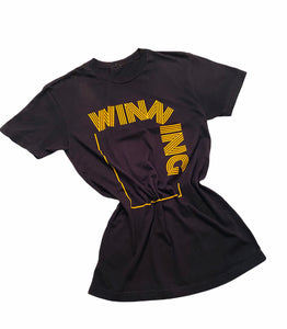 Black and Gold Winning Reloaded T-Shirt
