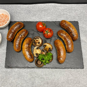 Traditional Bespoke Handmade Lincolnshire Pork Sausage  / available in 2 pack sizes