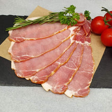 Load image into Gallery viewer, Cured Sliced Aberdeen Quality Bacon (Unsmoked ) / 2.27kg packets