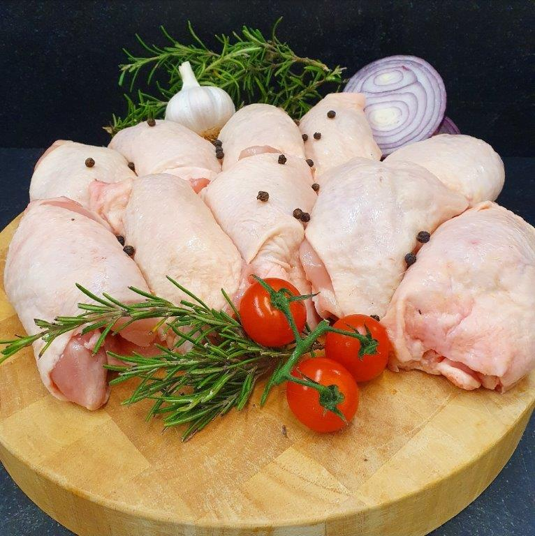 10 British Chicken Oyster Thighs / approx 1.2 kg packets