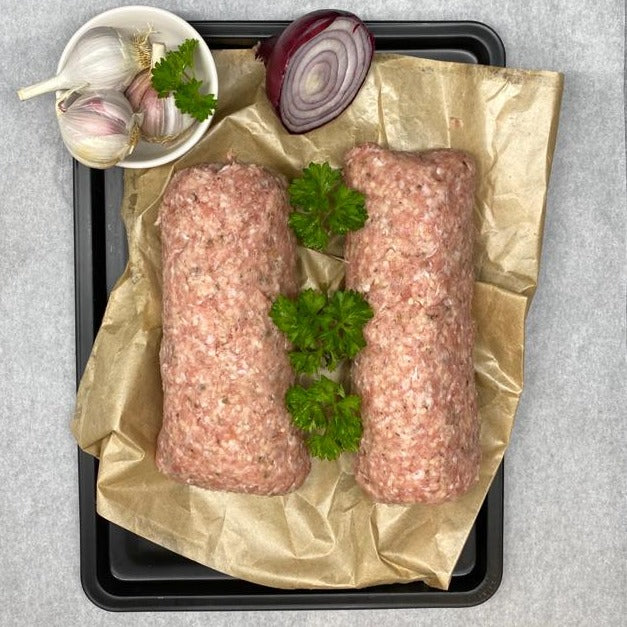 Homemade Traditional Lincolnshire Pork Sausage Meat  / 1000 grams