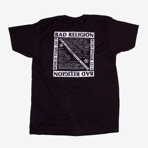 Bad Religion All Good Soldiers Tour Tee Black