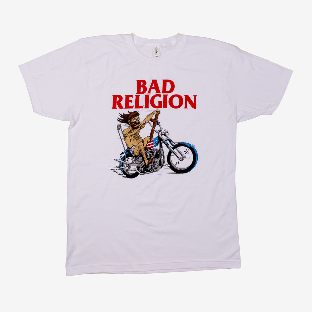 Bad Religion American Jesus Tee White