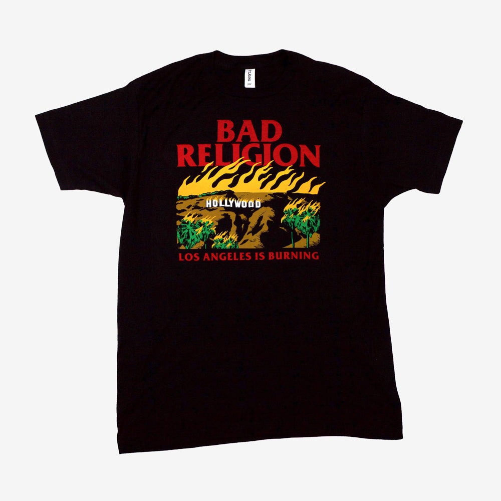 Bad Religion Burning Tee