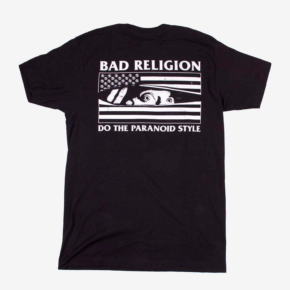 Bad Religion Paranoid Style Tee Black
