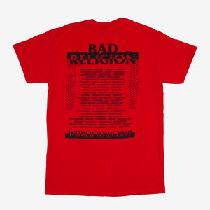 Bad Religion Ripper Tour Tee