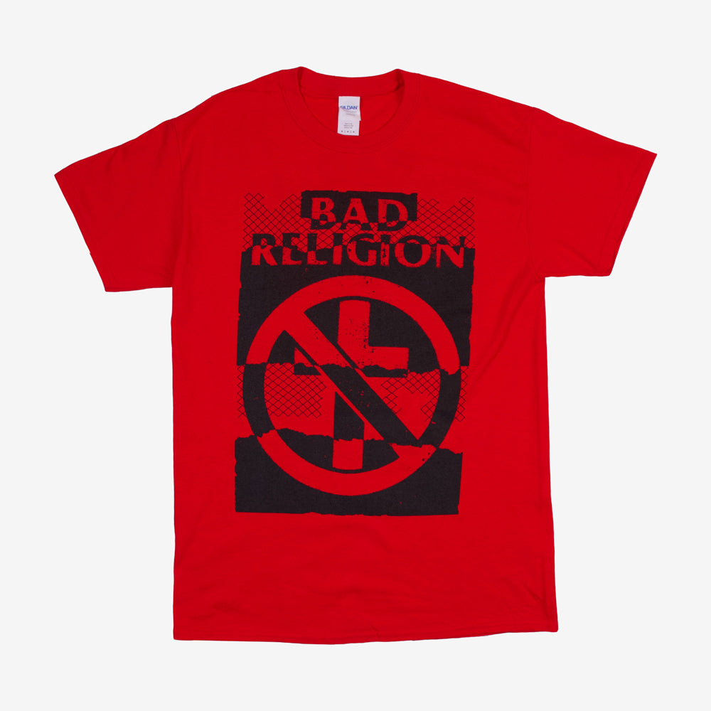 Bad Religion Ripper Tour Tee Red
