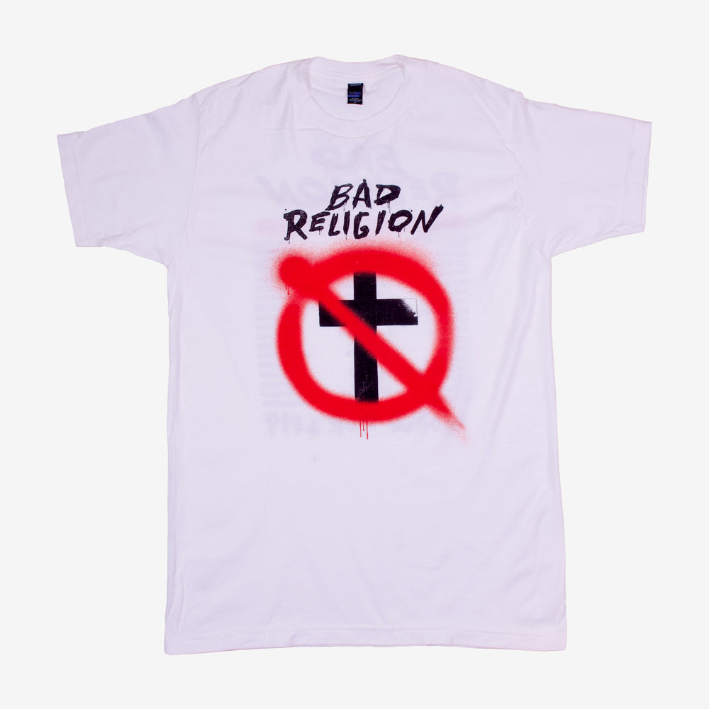 Bad Religion Spray Buster Tour Tee White