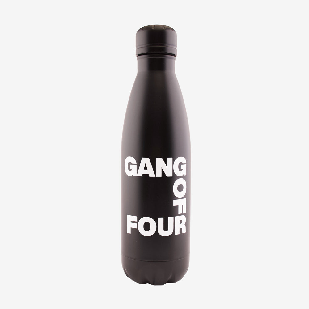 Gang of Four Logo Bottle