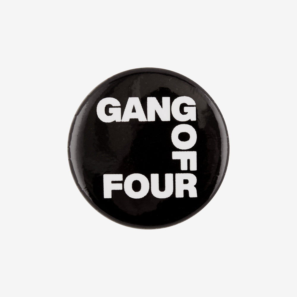 Gang of Four Logo Button