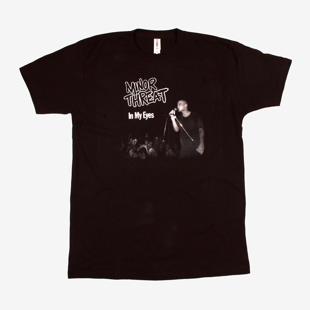 Minor Threat In My Eyes Tee Black