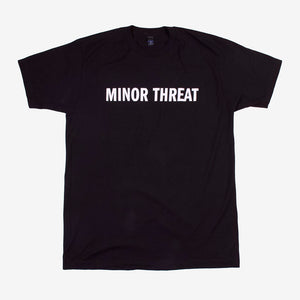 Minor Threat Just A Tee Black