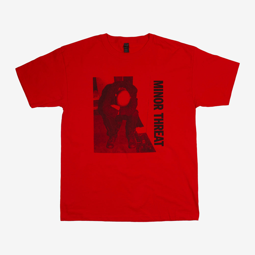 Minor Threat LP Tee Red