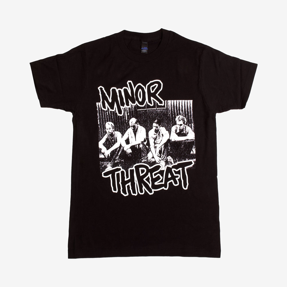 Minor Threat Xerox Tee Black