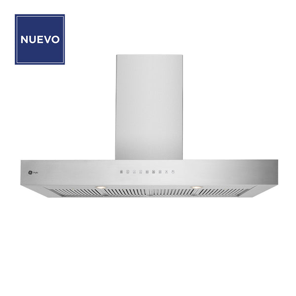 Campana General ElectricC GP1220I7I tipo Isla de 120cm inox digital 110v/60hz