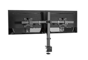 Conquer Double Monitor Mount Standing Desk Adjustable Dual Arm Screen Clamp