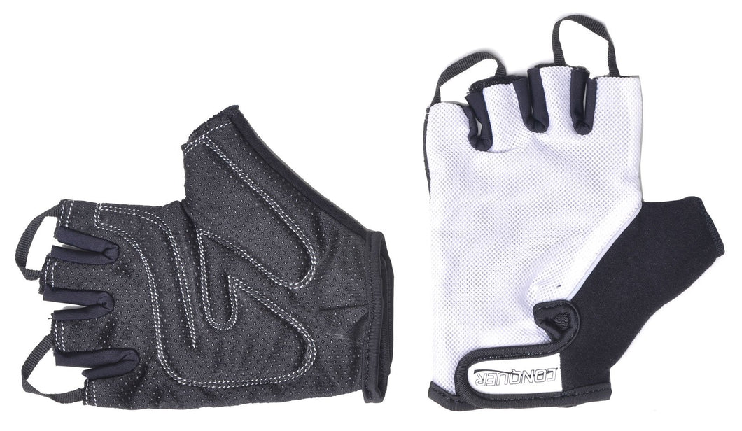 Conquer Ultra Comfort Padded No Slip Cycling Gloves, Ultra Breathable Mesh