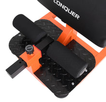 Load image into Gallery viewer, Conquer 3-in-1 Sit Up, Deep Sissy Squat, Push Up Ab Workout Home Gym Machine