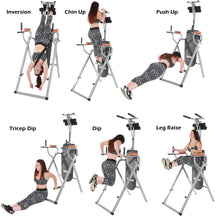 Load image into Gallery viewer, Conquer 6-in-1 Inversion Table Power Tower Home Gym