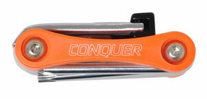 Conquer Bike Multitool, 11 Function Bicycle Tool