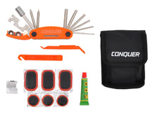 Load image into Gallery viewer, Multi Function Bike Tool with Patch Kit & Tire Levers 18 Function