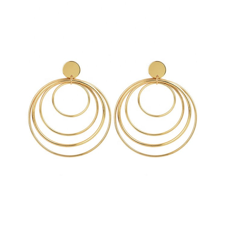Luxury Styles Alloy Earrings Party Big Drop Earrings