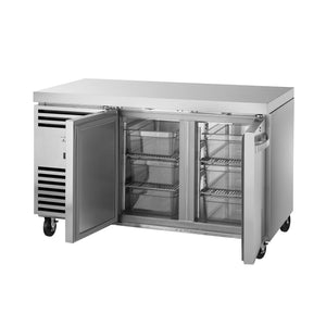 1/1 GN Counter Freezer, 2 solid doors - TCF1/2-CL-SS-DL-DR