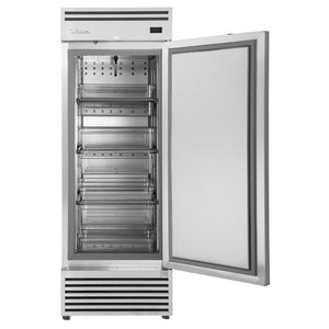 2 /1 GN Upright Freezer, 1 solid door - TGN-1F-1S