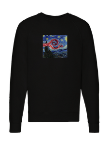 sweatshirt - Wavy Night