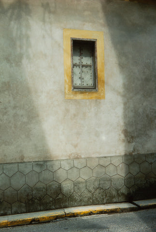 Wall and Yellow Window