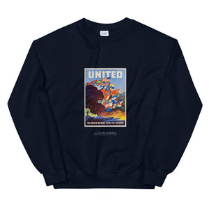 United States Office of War Information poster, 1943 (sweatshirt)