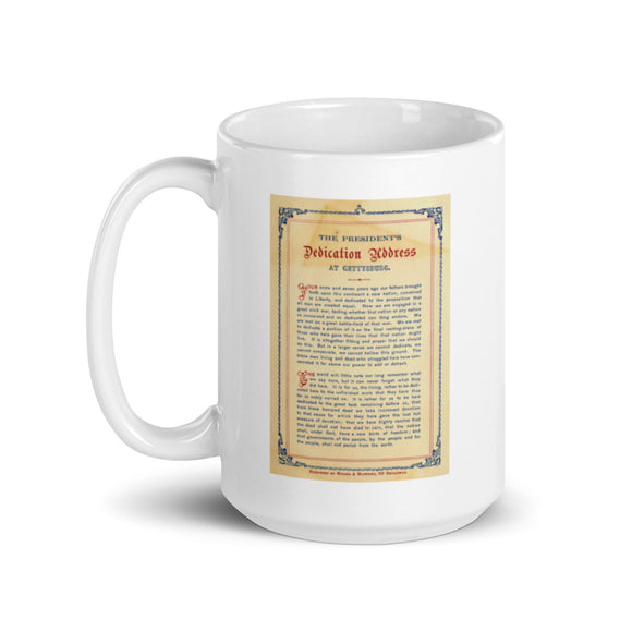 The Gettysburg Address (mug)