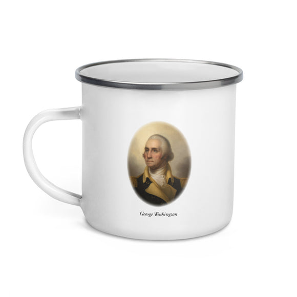 George Washington (enamel mug)
