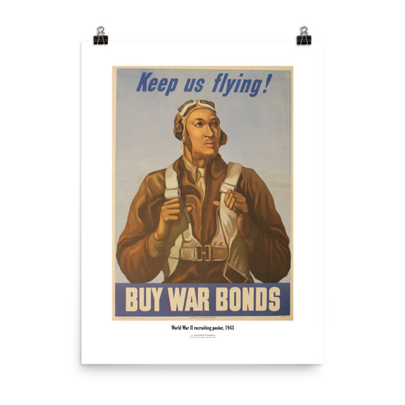 World War II recruiting, 1943 (poster)