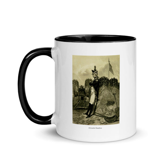 Alexander Hamilton (two-color mug)