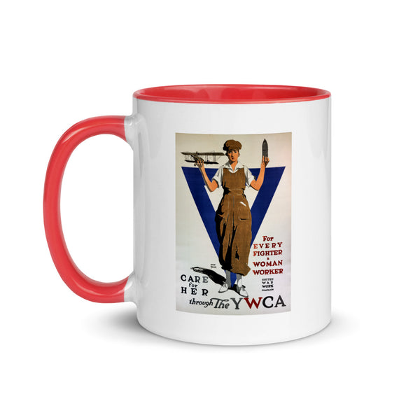 World War I poster, 1918 (two-color mug)