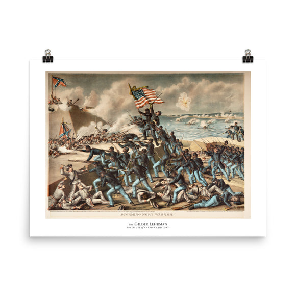 The 54th Massachusetts Regiment in the Civil War (poster)