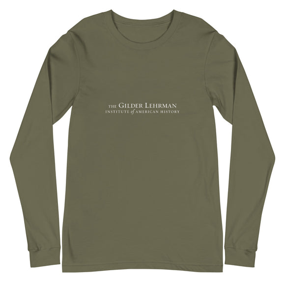 Gilder Lehrman Institute logo (long-sleeve t-shirt)