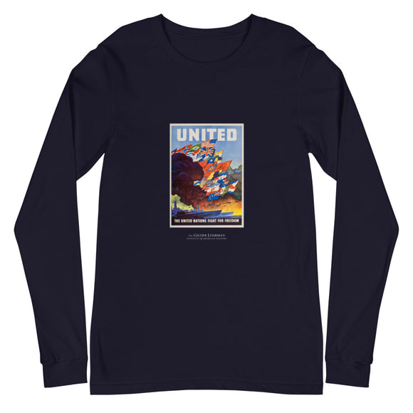 United States Office of War Information poster, 1943 (long-sleeve t-shirt)