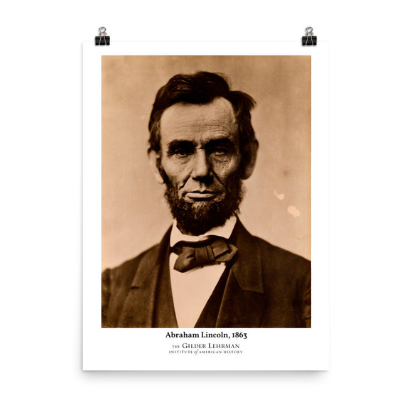 Abraham Lincoln, 1863 (poster)